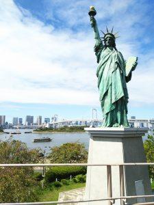 お台場の自由の女神東京テレポートからの行き方⑫